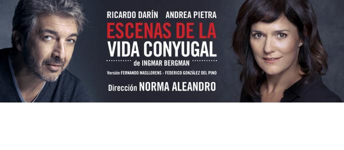 ESCENAS DE LA VIDA CONYUGAL / 1-12 noviembre
