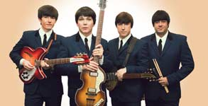 The Mersey Beatles, banda de Liverpool homenaje a los Beatles