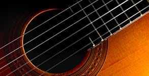 Guitarra día de Andalucía