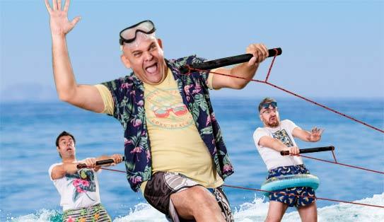 Luis Lara, Vicente Ruidos y Jesús Tapia - Campos Comedy
